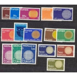 Set of stamps 1970. Europa