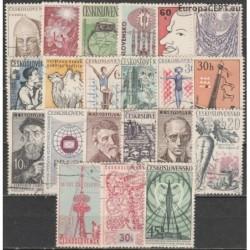 Czechoslovakia, Set of used...