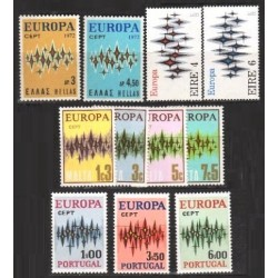 Set of stamps 1972. Europa