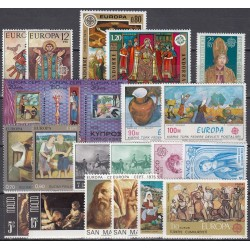 Set of stamps 1975....
