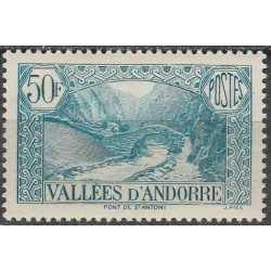 Andorra (french) 1943. St...