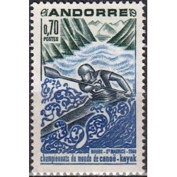 Andora (pranc) 1969. Kajakų...