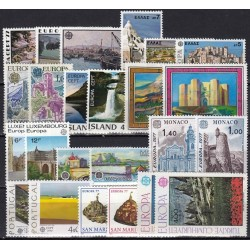 Set of stamps 1977....