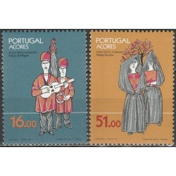 Azores 1984. National costumes