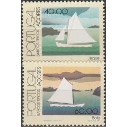 Azorai 1985. Tradicinės valtys