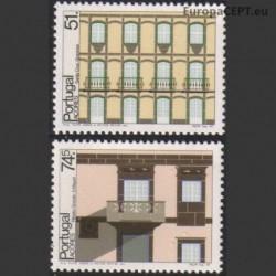 Azores 1987. Architecture...