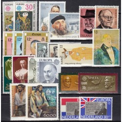 Set of stamps 1980. Famous...