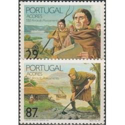 Azores 1989. Islands...