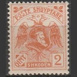 Albania 1920. Skanderberg...