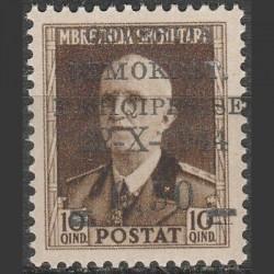 Albanija 1945. Nacionalinė...