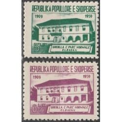 Albanija 1960. Mokykla