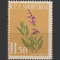 Albanija 1962. Gėlės