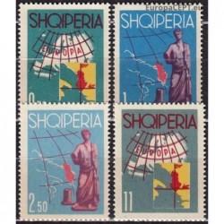 Albanija 1962. Europos...