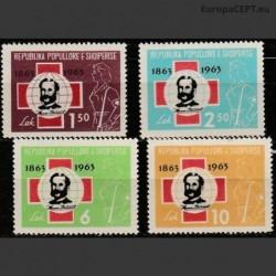 Albanija 1963. Raudonasis...