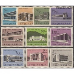 Albanija 1965. Architektūra...