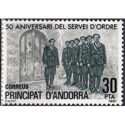 Andora (isp) 1981. Policija...