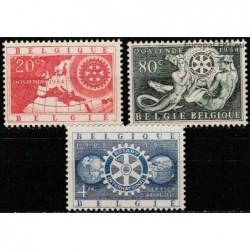 Belgium 1954. Rotary...