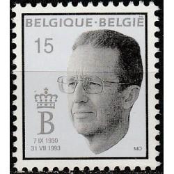 Belgija 1993. Karalius