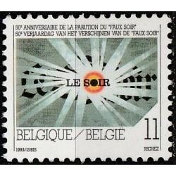 Belgium 1993. Newspaper