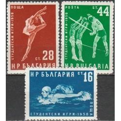 Bulgaria 1958. Student Games