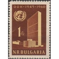 Bulgarija 1960. Jungtinėms...