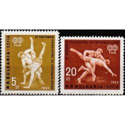 Bulgaria 1963. Wrestling