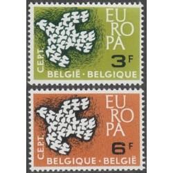 Belgija 1961. CEPT: CEPT:...
