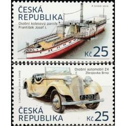 Čekija 2014. Transporto...