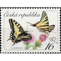 Čekija 2016. Drugeliai