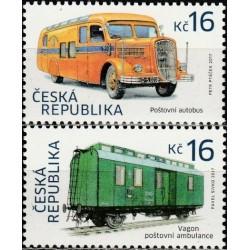 Čekija 2017. Pašto transportas