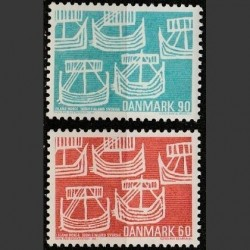 Denmark 1969. Post history