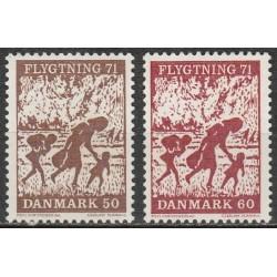 Denmark 1971. Refugees