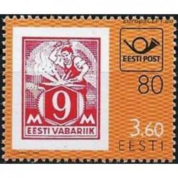 Estonia 1998. Post history