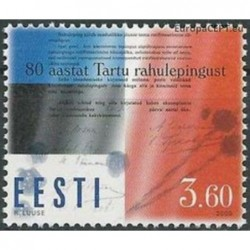 Estonia 2000. Tartu agreement