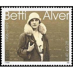 Estonia 2006. Poetess Betti...