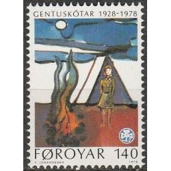 Faroe Islands 1978. Scout...