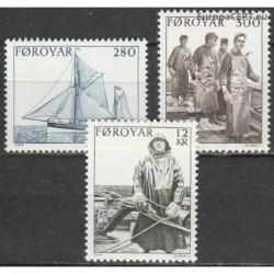 Faroe Islands 1984. Fishing...