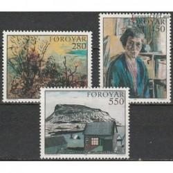 Faroe Islands 1985. Paintings