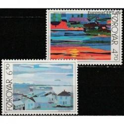 Farerų salos 1987. Torshavn...