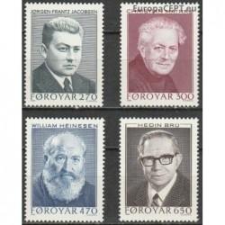 Faroe Islands 1988. Writers