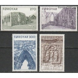 Faroe Islands 1988. Gates...
