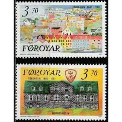 Farerų salos 1991. Miestų...