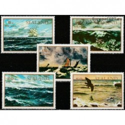 Sealand 1970. Seascapes