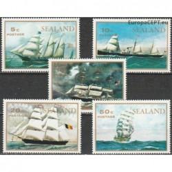 Sealand 1970. Sailing ships