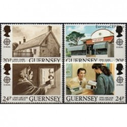 Guernsey 1990. Post history
