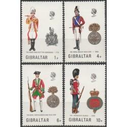 Gibraltar 1973. Military...
