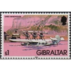 Gibraltaras 1982. Lėktuvas