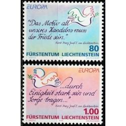 Liechtenstein 1995. Peace...
