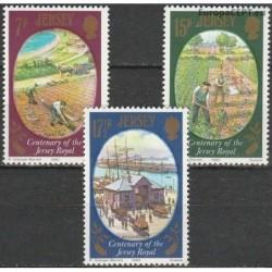 Jersey 1980. Crop farming