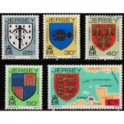 Jersey 1982. Coats of arms